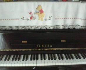 我が家のピアノ♪