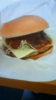とびきりチーズハンバーグサンド!